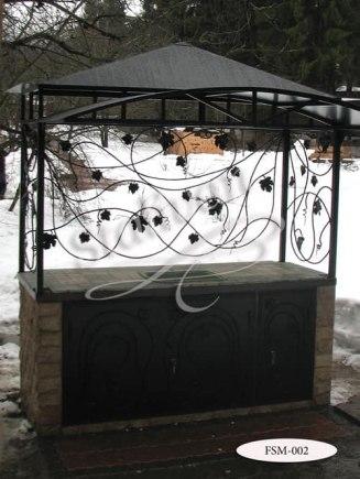 Мангал с ковкой FSM-002 - фото 1