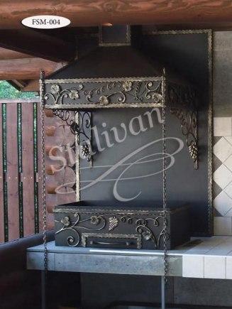 Мангал с художественной ковкой FSМ-004 - фото 1