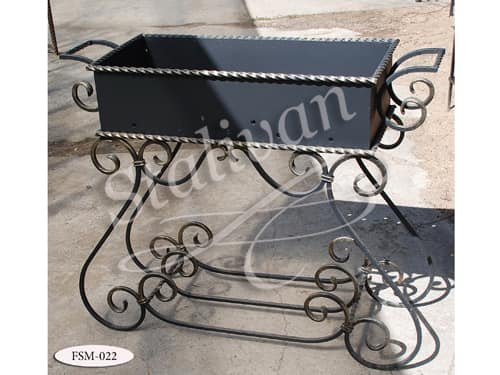 Мангал с элементами ковки FSM-022 - фото 1