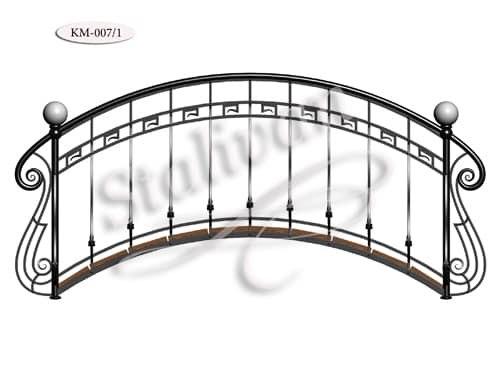 Мостик с элементами ковки KM-007/1 - фото 1