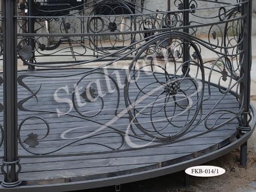 Беседка с художественной ковкой FКВ-014/1 - фото 1