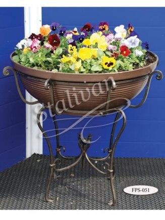 Подставка под цветы кованая FPS-051 - фото 1