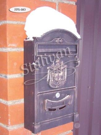 Кованый навесной почтовый ящик FPS-083 - фото 1
