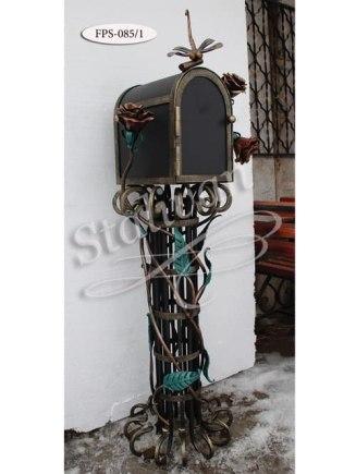 Почтовый ящик с элементами ковки FPS-085/1 - фото 1