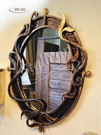 Кованое зеркало FPI-232 - фото 1