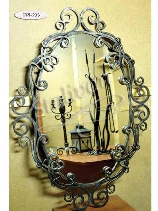 Кованое зеркало FPI-233 - фото 1