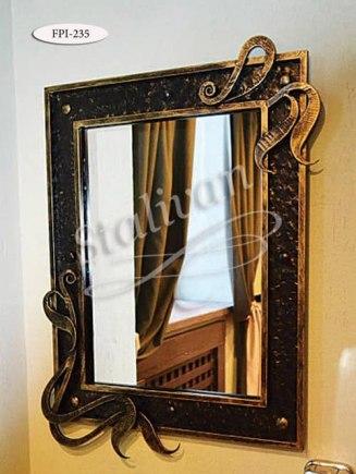 Зеркало в кованой раме FPI-235 - фото 1