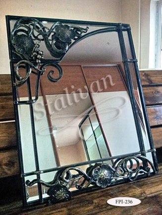 Кованое зеркало FPI-236 - фото 1