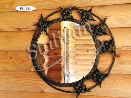 Кованое зеркало FPI-240 - фото 1