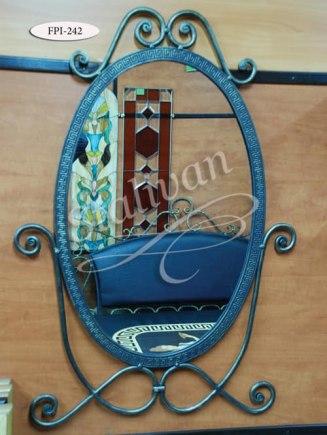 Зеркало в кованой раме FPI-242 - фото 1