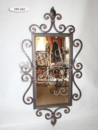 Кованое зеркало FPI-243 - фото 1