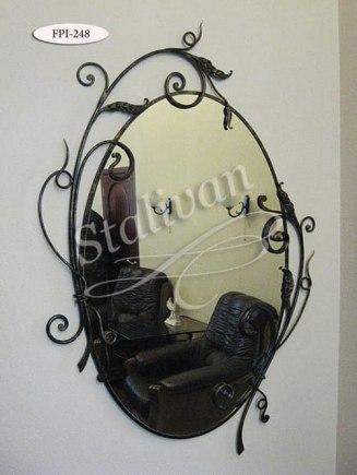 Зеркало в кованой раме FPI-248 - фото 1