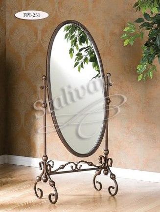 Зеркало в кованой раме FPI-251 - фото 1