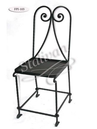Кованый стул FPI-103 - фото 1