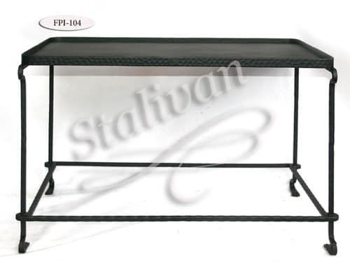 Кованый стол FPI-104 - фото 1
