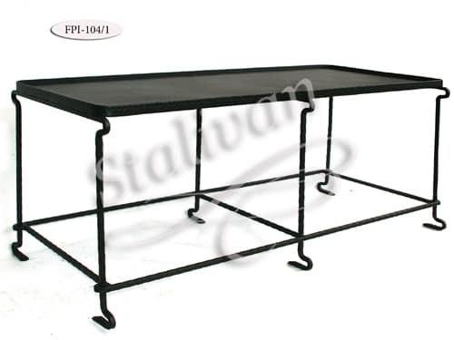 Кованый стол FPI-104-1 - фото 1