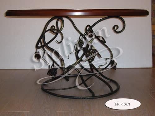 Стол с ковкой FPI-107-1 - фото 1
