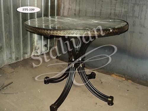 Стол с художественной ковкой FPI-109 - фото 1