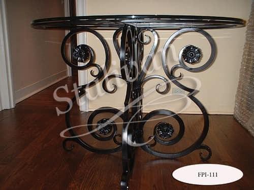 Стол с ковкой FPI-111 - фото 1