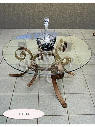 Стол с художественной ковкой FPI-113 - фото 1