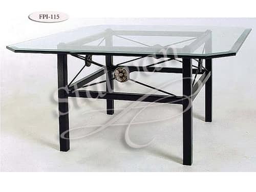 Стол со стеклянной столешницей FPI-115 - фото 1