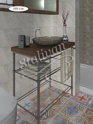 Кованый стол FPI-119 - фото 1