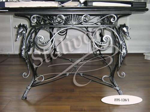 Стол с художественной ковкой FPI-126-1 - фото 1