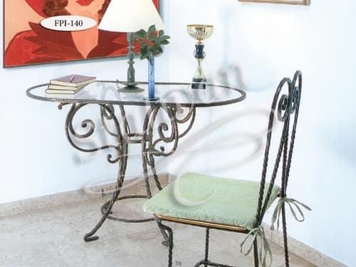Стол с художественной ковкой FPI-140 - фото 1