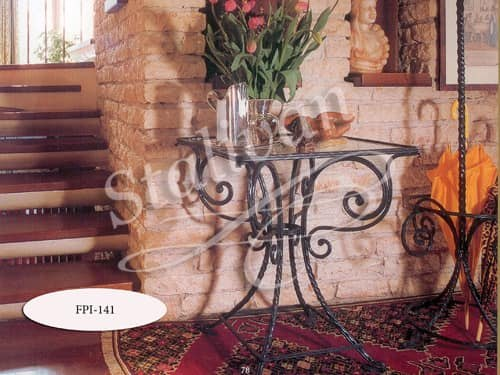 Стол с элементами ковки FPI-141 - фото 1