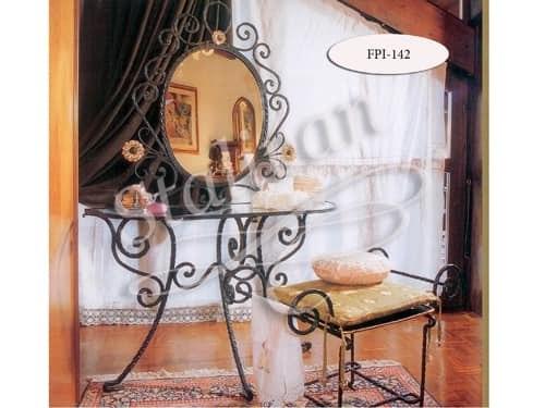 Туалетный кованый столик FPI-142 - фото 1