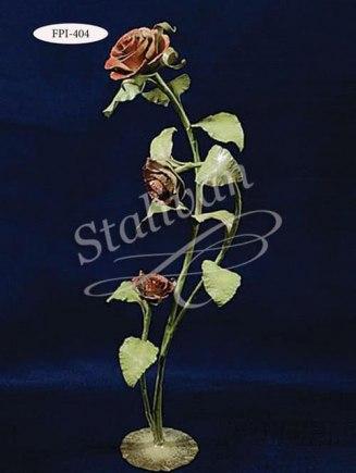 Декоративная кованая роза FPI-404 - фото 1