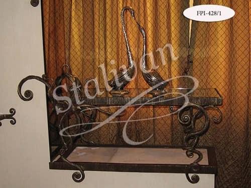 Интерьерный кованый декор FPI-428-1 - фото 1