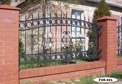 Забор с художественной ковкой FZK-003 - фото 1