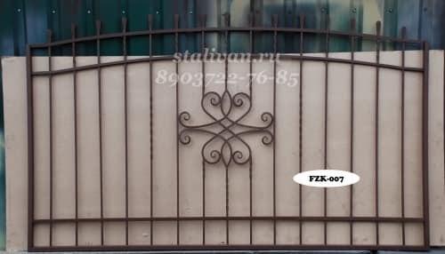 Забор с художественной ковкой FZK-007 - фото 1