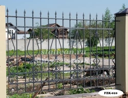 Кованый забор FZK-010 - фото 1
