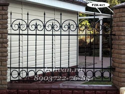 Забор с художественной ковкой FZK-017 - фото 1