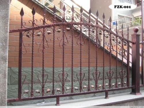 Кованый забор FZK-001 - фото 1