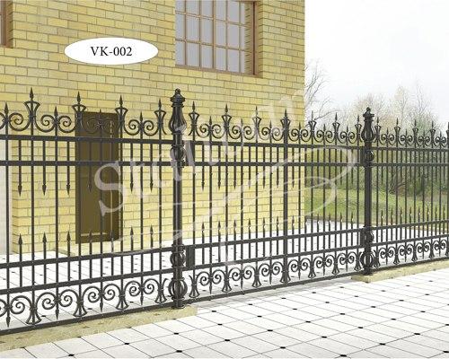 Кованые ворота VK-002 - фото 1