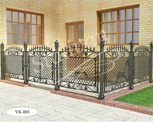 Ворота с элементами ковки VK-005 - фото 1