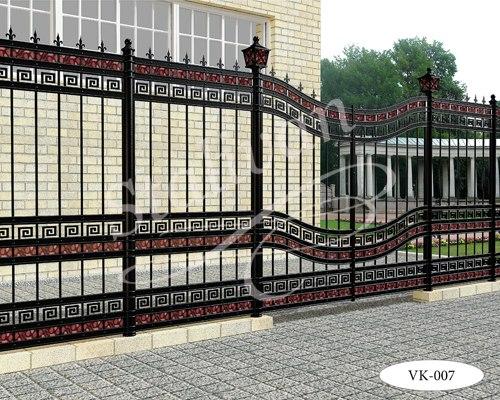 Кованые ворота VK-007 - фото 1