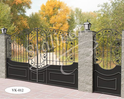Ворота кованые VK-012 - фото 1