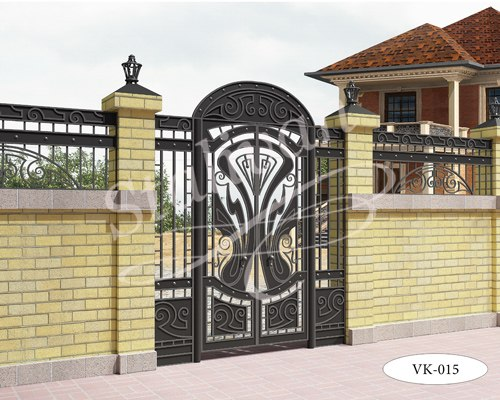 Ворота с элементами ковки VK-015 - фото 1