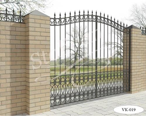 Ворота с художественной ковкой VK-019 - фото 1