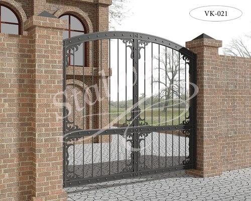 Ворота с ковкой VK-021 - фото 1