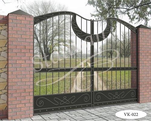 Ворота кованые VK-022 - фото 1