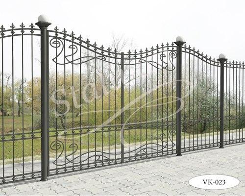 Ворота с элементами ковки VK-023 - фото 1