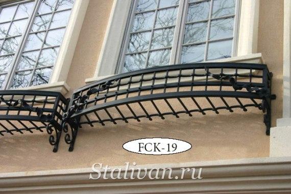 Кованая цветочница FCK-19 - фото 1