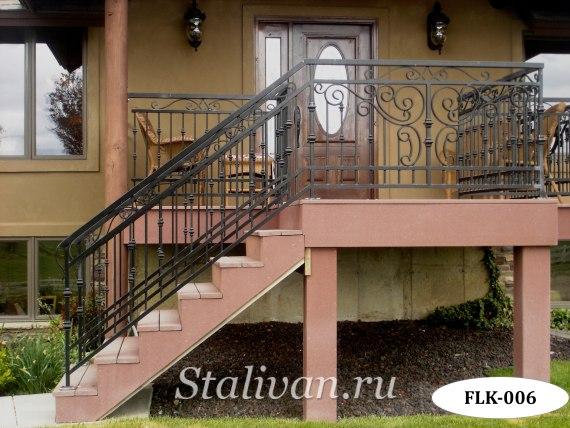 Перила (лестничные ограждения) FLK-006 - фото 1