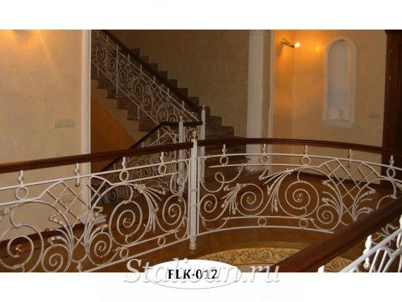 Перила (лестничные ограждения) FLK-012 - фото 1