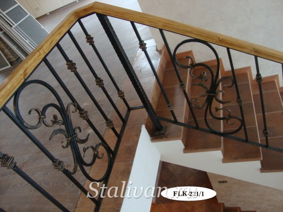 Перила (лестничные ограждения) FLK-221 - фото 2